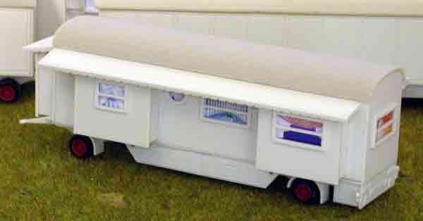 Bausatz 10 Meter Tonnendachwohnwagen 2