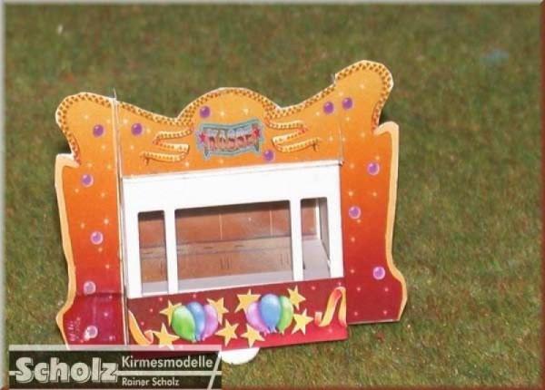 Bausatz Kassenwagen für Kinderkarussell