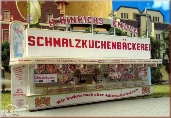 Bausatz Schmalzkuchenbäckerei Firma Hinrichs