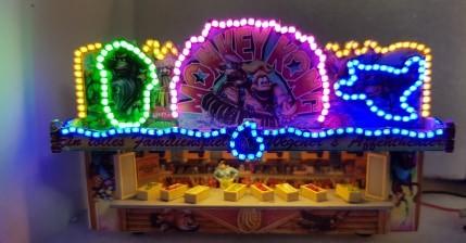 Fertigmodell Monkey Kong mit SMD Beleuchtung