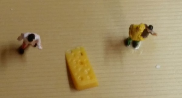 Deko Figur Käse
