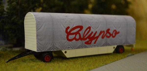 Bausatz Packwagen mit Plane Calypso