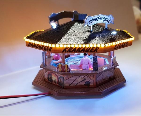 Fertigmodell Schwenkgrill mit SMD Beleuchtung