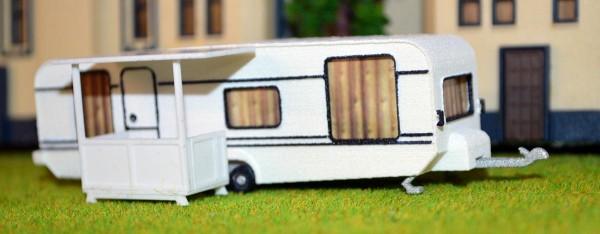 Bausat Camping mit Veranda