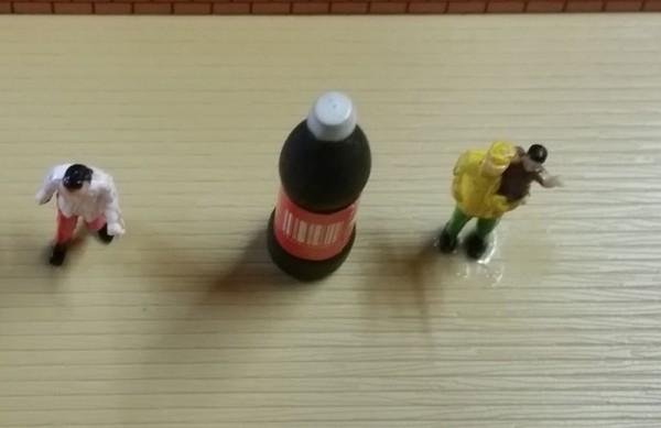 Deko Figur Cola Flasche