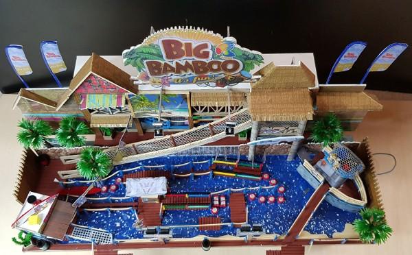 Fertigmodell BIG BAMBOO mit Funktion