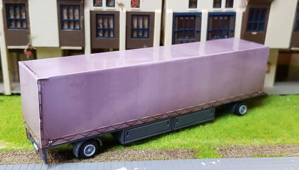 Bausatz Planpackwagen Kasten 2 achs