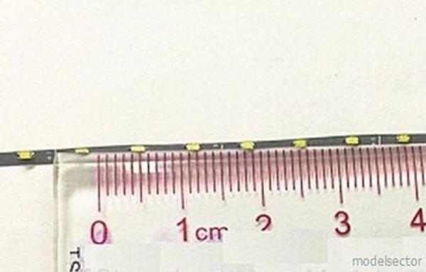 LED Stripe 1,5mm blau Lötanschluss