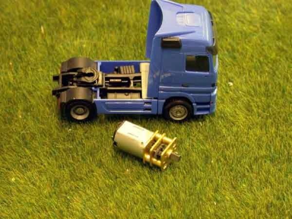 Motorenset für den Bausatz Shake01