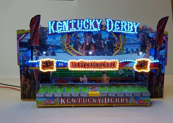 Fertigmodell Kentucky Derby mit Beleuchtung