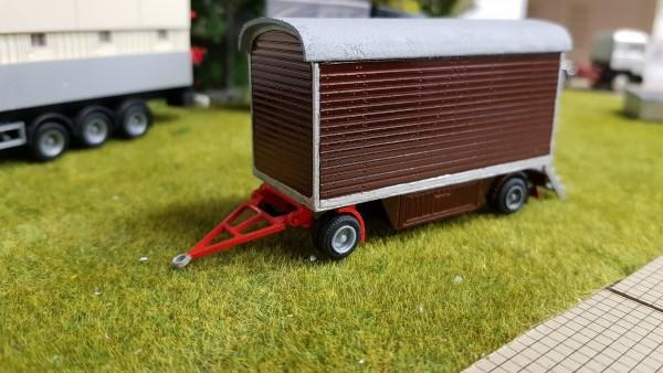 Bausatz Packwagen 6 Meter Holzoptik