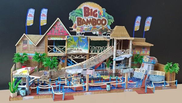 Bausatz Big Bamboo Firma Hempen mit funktionsteile
